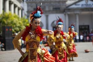 Chinesiche Tänzer