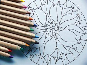 Mandala zeichnen