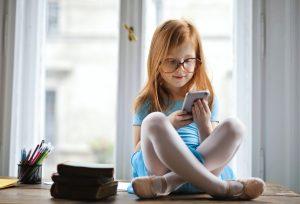 Maedchen Smartphone